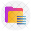 Folder Saving Currency Icon