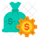 Saving Loan Money Bag Icon
