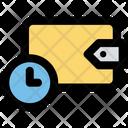 Saving Wallet Time Icon