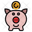 Saving Account Piggy Bank Piggy Icon