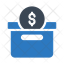 Savingbox Dollar Money Icon