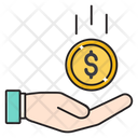 Pay Saving Currency Icon