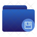 Saving Folder Icon