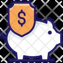 Saving Insurance Icon