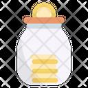Saving Jar Icon