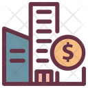 Saving House Money Icon