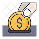 Pay Coin Saving Icon
