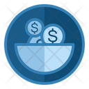 Saving Money Investment Bank Icon