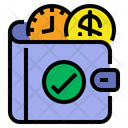 Saving Time Money Icon