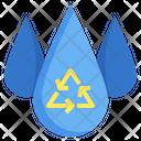 Saving Water Save Water Water Icon
