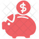 Save Save Money Piggy Bag Icon