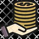 Saving Coin Money Icon