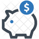 Budget Piggy Bank Savings Icon