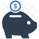 Bank Coin Deposit Icon
