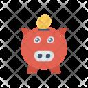 Piggybank Savings Money Icon