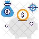Money Safe Investment Business Target Icon
