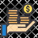 Savings Income Cash Icon