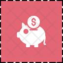 Savings Bank Finance Icon