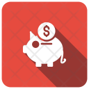 Savings Piggy Bank Icon