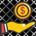 Money Hand Savings Icon