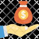 Savings Money Bag Icon