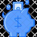Box Save Coin Icon