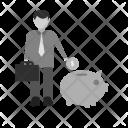 Savings Human Activity Icon