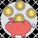 Savings Penny Bank Icon