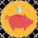 Saving Water Savings Icon