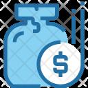 Saving Money Bag Icon