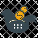 Savings Dove Piggy Icon