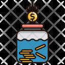 Savings Money Jar Icon
