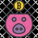 Savings Finance Bitcoin Icon