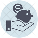 Business Savings Piggy Bank Icon
