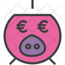 Savings Finance Euro Icon