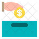 Hand Money Payment Icon