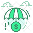 Saving Umbrella Payment Icon