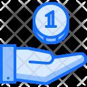 Savings Hand Payment Icon