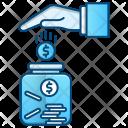Saving Investment Jar Icon