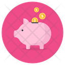 Piggy Bank Savings Piggy Money Box Icon