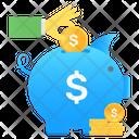 Savings Penny Bank Piggy Bank Icon