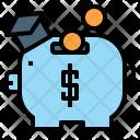 Saving Piggy Budget Icon