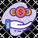 Income Cash Savings Icon