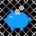 Savings Money Piggy Icon