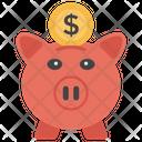 Savings Piggy Bank Investment Icon
