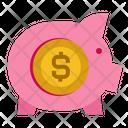 Pig Money Invest Icon