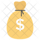 Dollar Bag Savings Investment Icon