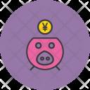 Savings Finance Yen Icon