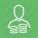 Savings Account Budget Icon