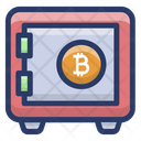 Savings Bitcoin Icon